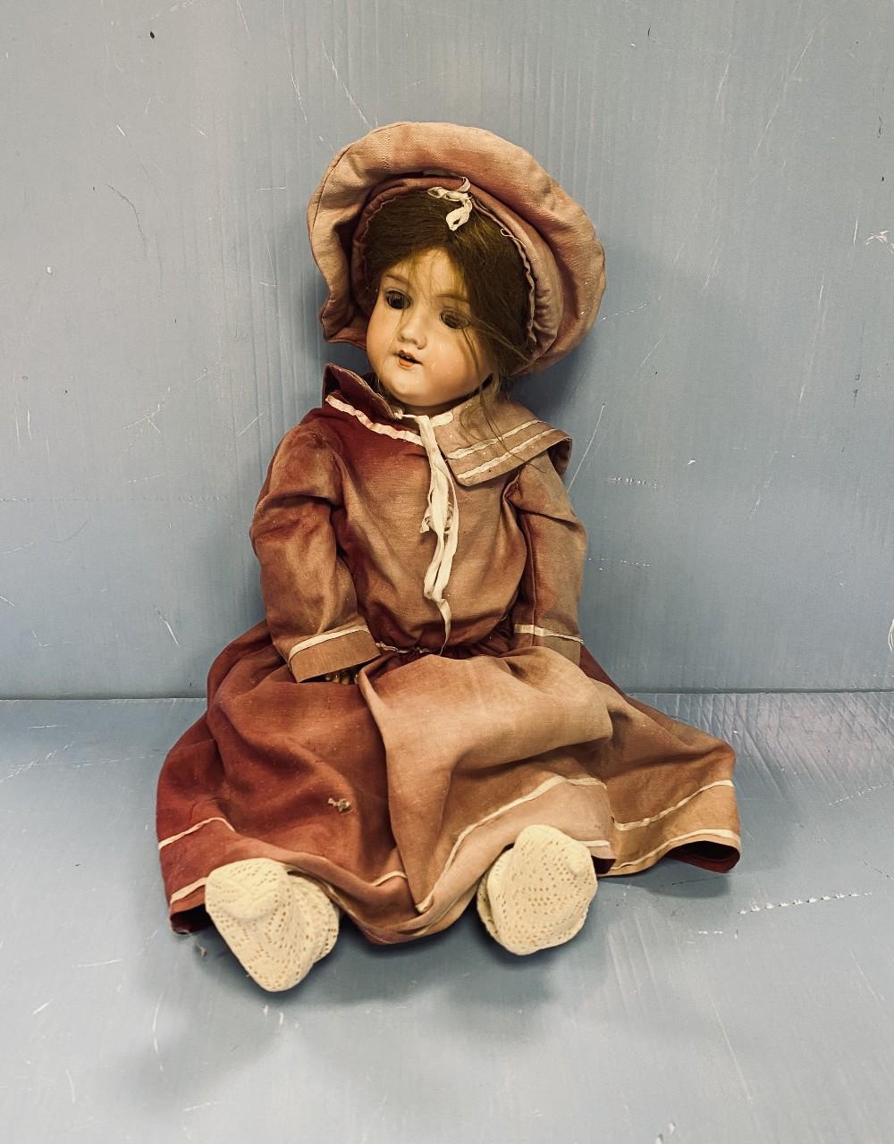 Vict Porcelain Doll