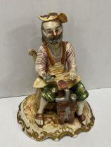 Capodimonte Figure of a Cobbler