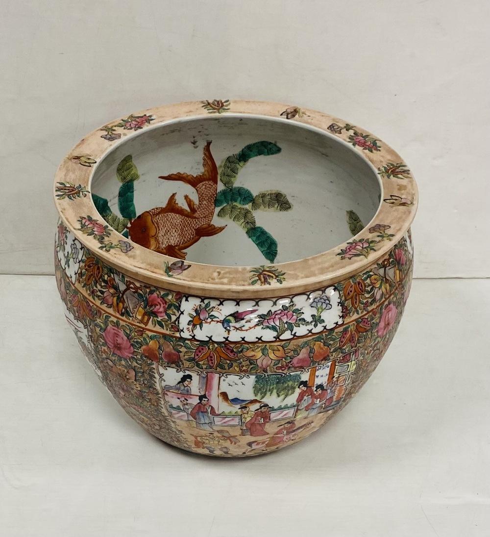 Oriental Fish Bowl Planter