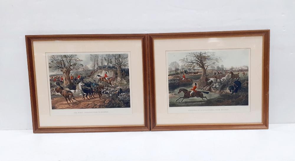 Pair of Alkin Prints 75cm x 63cm Including Frame