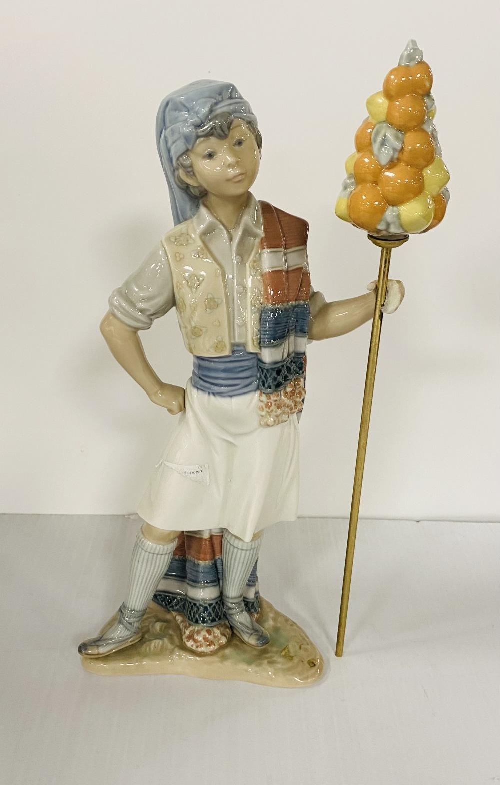 Tall Lladro Figure ( Slight Damage)