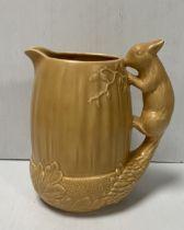 Sylvac 1959 Squirrel Handle Jug