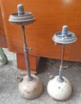 Two old tilley lamps