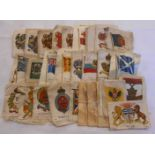 A small selection of Kensitas silks, military and other arms