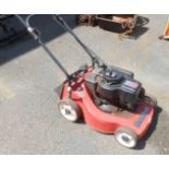 A Mountfield Emblem petrol lawnmower