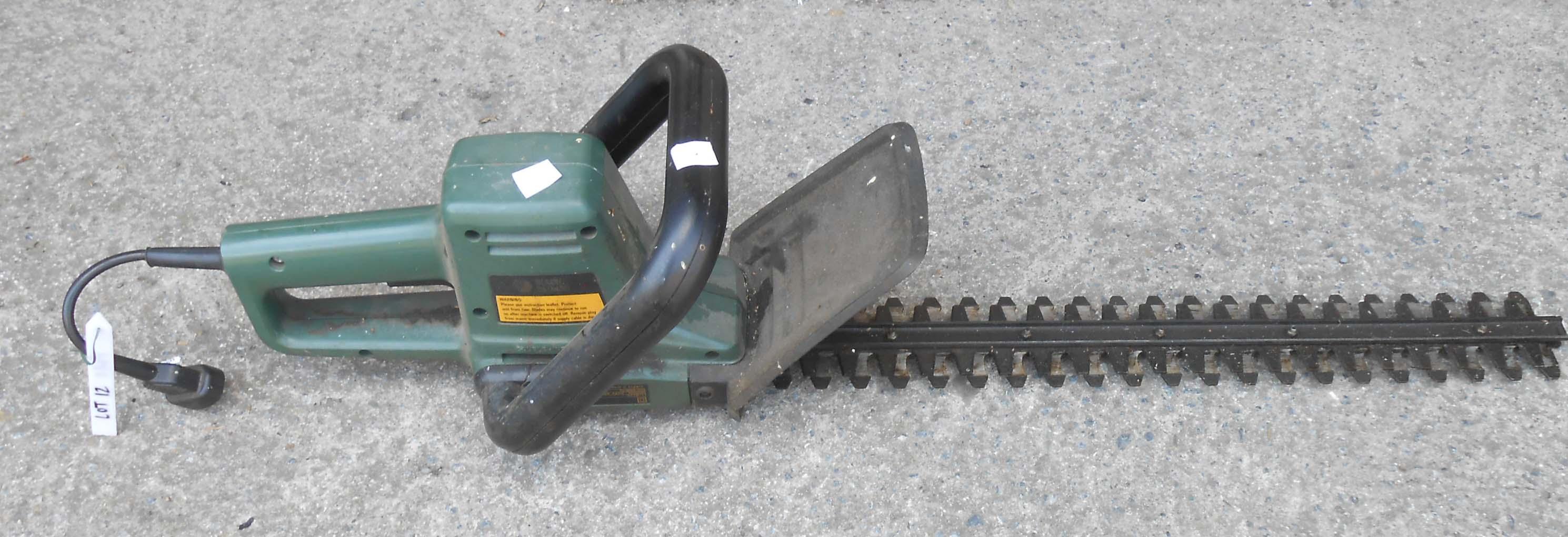 A Black & Decker 50cm GT 231 hedge trimmer