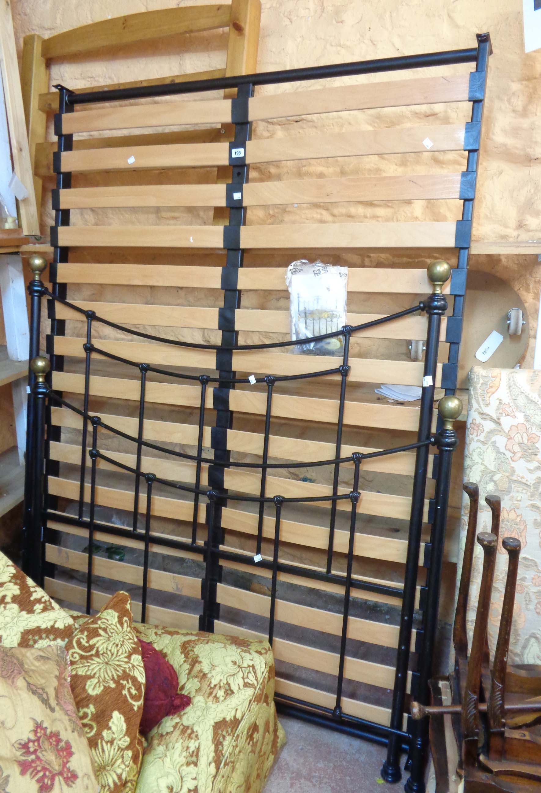 A 1.37m Virginia model reproduction Victorian style double bestead by The Original Bedstead Company