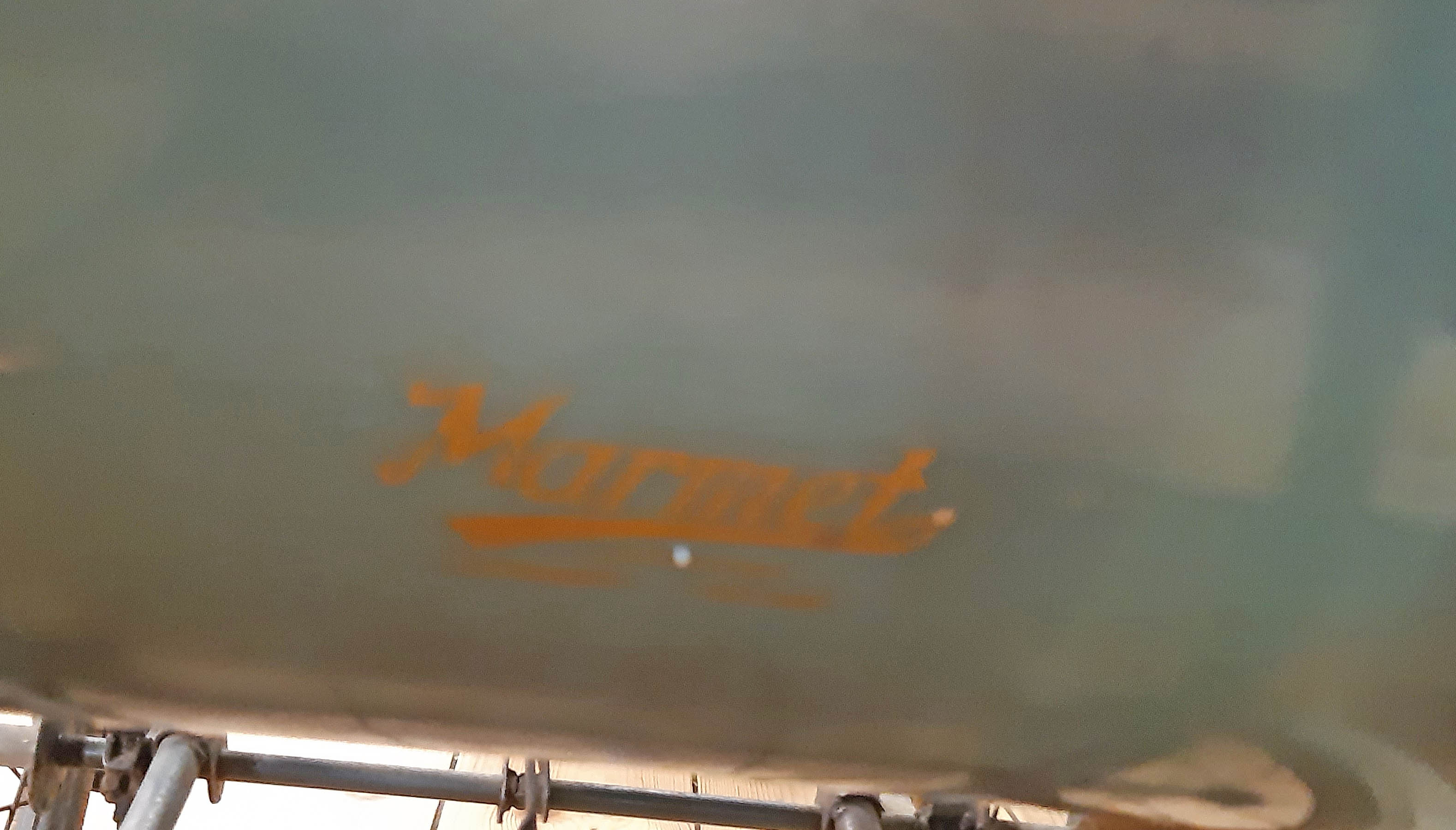 A vintage Marmet small coach built pram with original livery and hood - Image 2 of 2