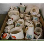 A large selection of Goss crested china including historical models, vases, candlesticks, etc. -