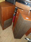 A pair of vintage Goodmans Dimension 8 multi directional loud speakers
