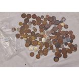 A quantity of antique and later non-silver coinage - various condition