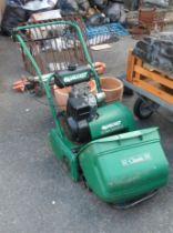 A Qualcast Classic petrol 35S lawn mower - a/f