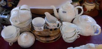A quantity of Coalport Countryware teawares including coffee pot, cups and saucers, etc. - sold