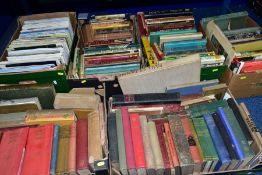 SIX BOXES OF BOOKS AND MAGAZINES, including art and antiques interest, The English Domestic Clock,