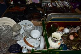 SUNDRY ITEMS ETC, to include Noritake 'Maplewood' part dinner set, teapot, cups and saucers, plates,