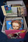 TWO BOXES CONTAINING OVER SEVENTY LP'S AND 12'' SINGLES, mostly from the 1980's including Status
