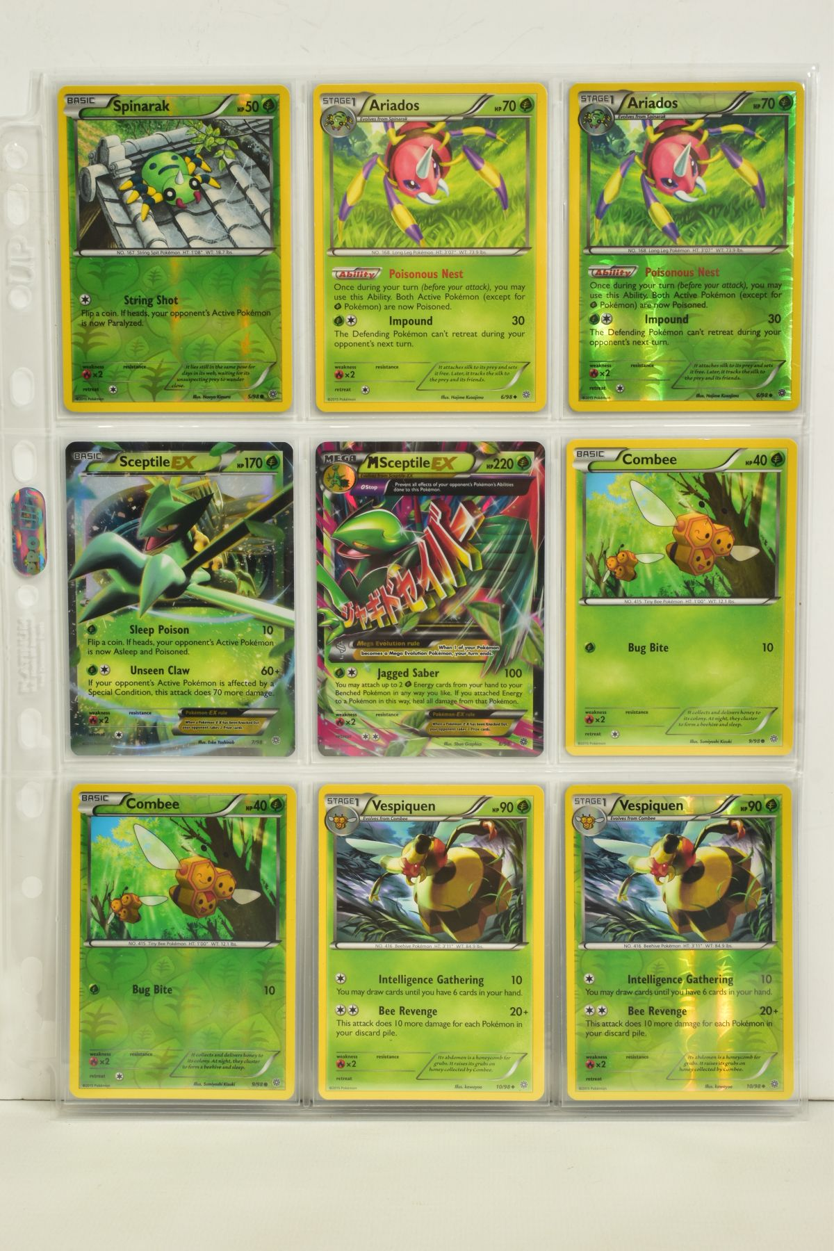 A COLLECTION OF ASSORTED POKEMON CARDS, to include complete master sets of XY Phantom Forces, XY - Image 3 of 101