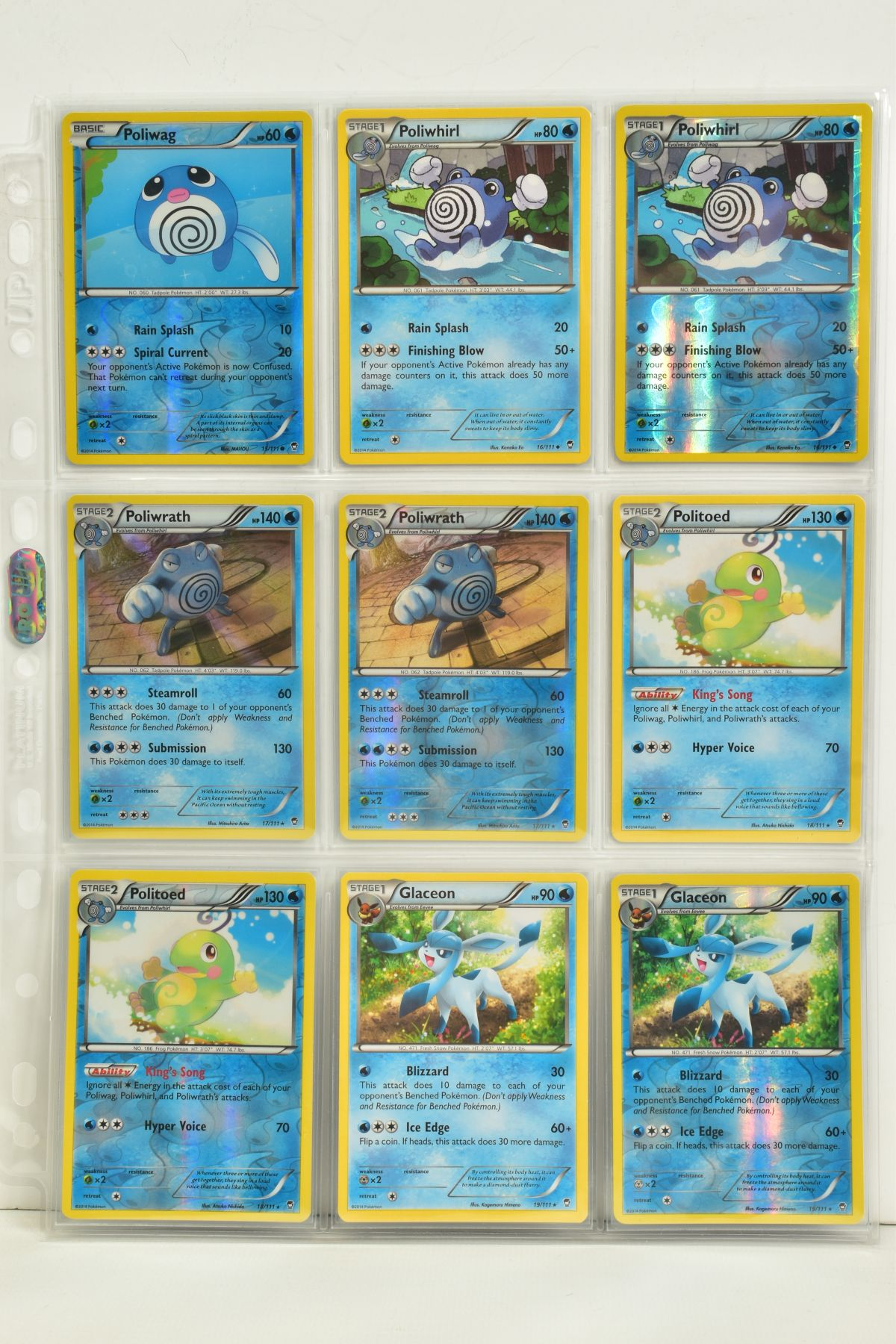 A COLLECTION OF ASSORTED POKEMON CARDS, to include complete master sets of XY Phantom Forces, XY - Image 80 of 101