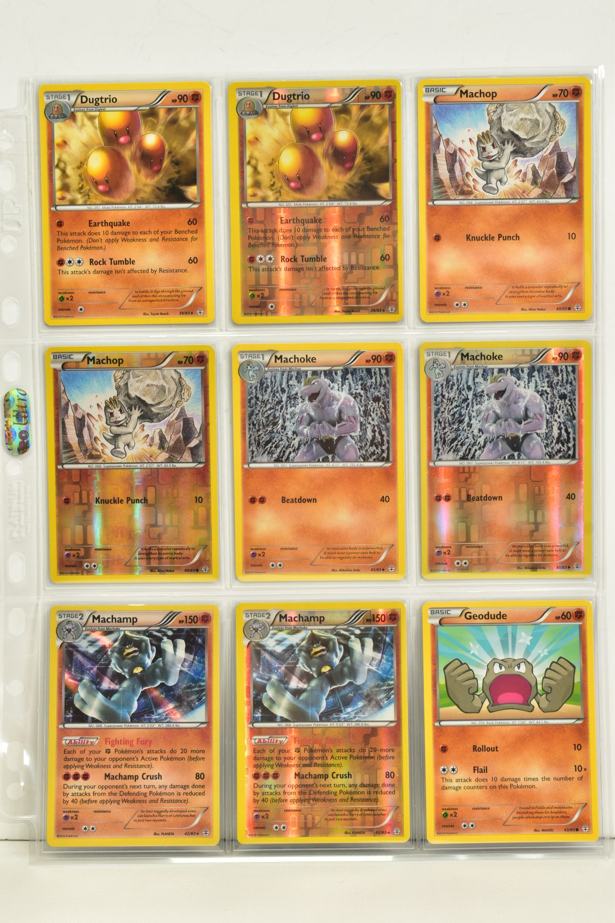 A COLLECTION OF ASSORTED POKEMON CARDS, to include complete master sets of XY Primal Clash, XY - Image 78 of 144