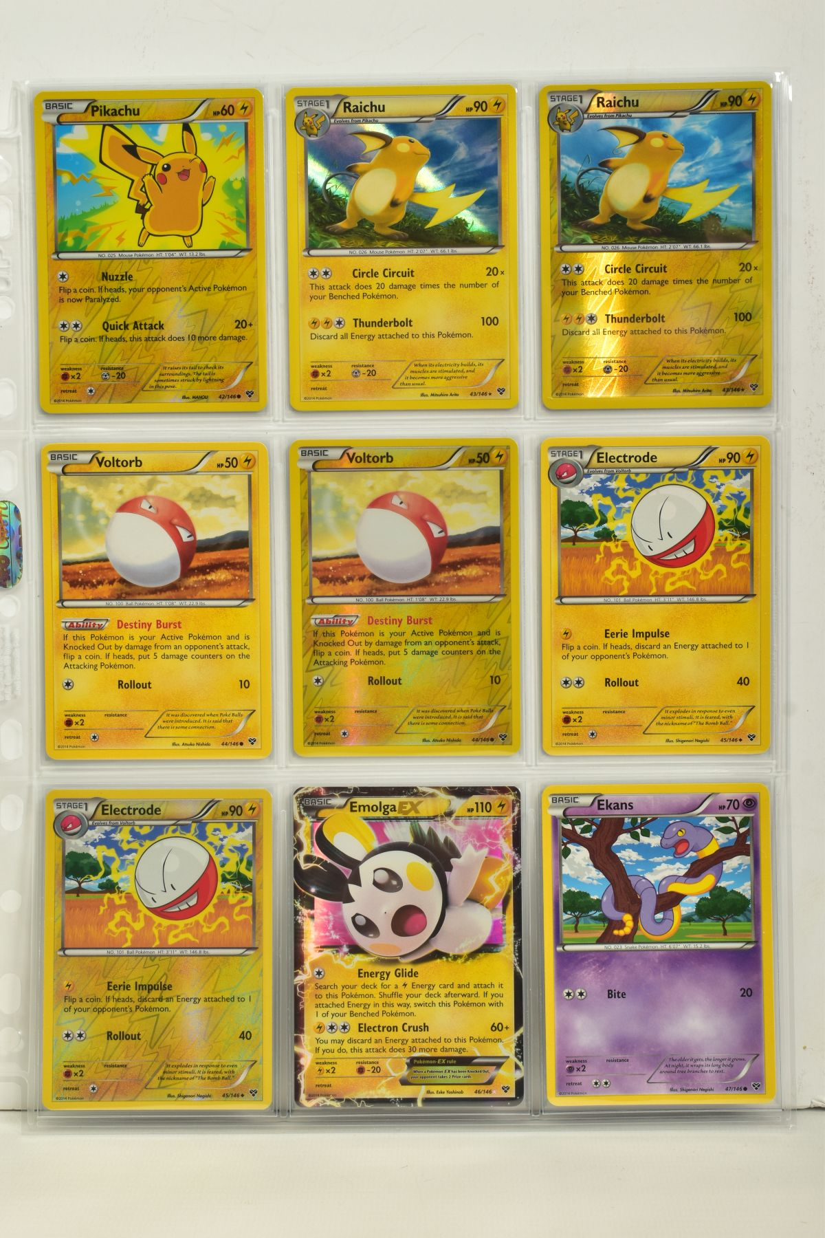 A COLLECTION OF ASSORTED POKEMON CARDS, to include complete master sets of XY Primal Clash, XY - Image 103 of 144