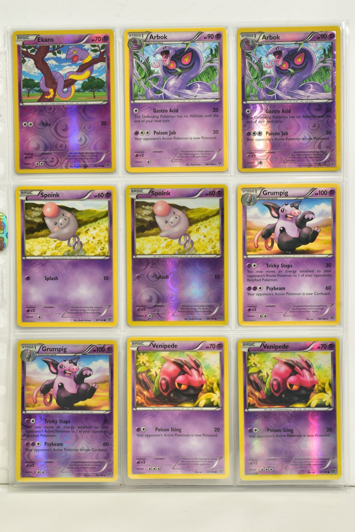 A COLLECTION OF ASSORTED POKEMON CARDS, to include complete master sets of XY Primal Clash, XY - Image 104 of 144