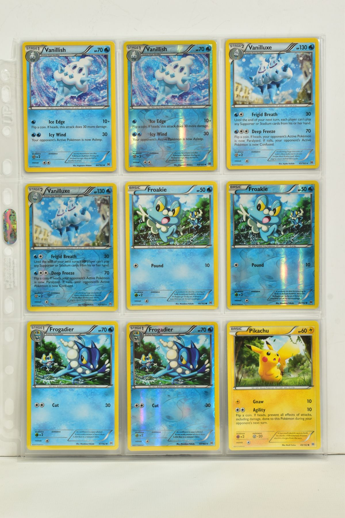 A COLLECTION OF ASSORTED POKEMON CARDS, to include complete master sets of XY Breakpoint, XY Roaring - Image 11 of 108