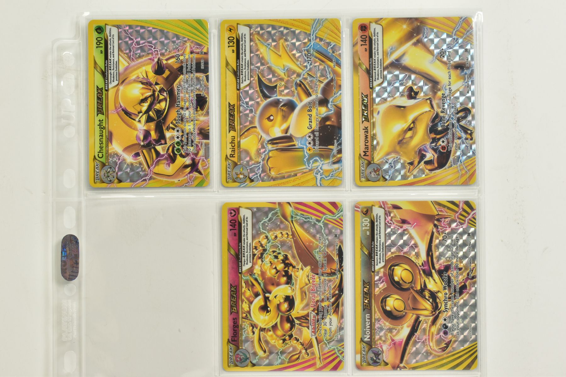 A COLLECTION OF ASSORTED POKEMON CARDS, to include complete master sets of XY Breakpoint, XY Roaring - Image 38 of 108