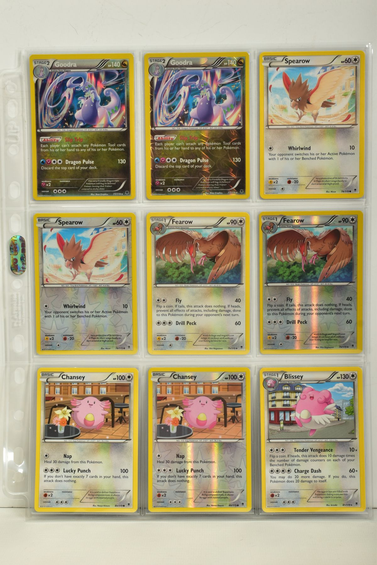 A COLLECTION OF ASSORTED POKEMON CARDS, to include complete master sets of XY Phantom Forces, XY - Image 68 of 101