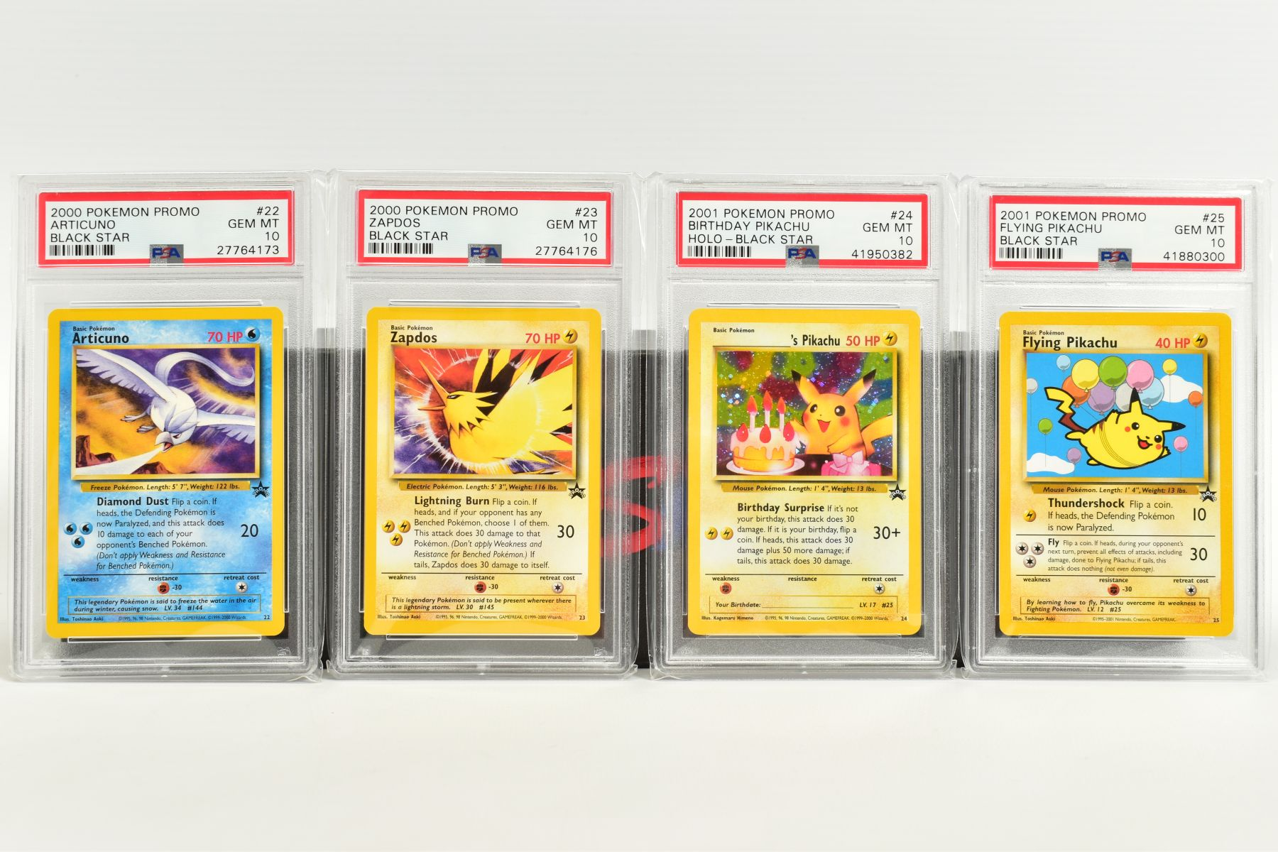 A QUANTITY OF PSA GRADED WIZARDS OF THE COAST POKEMON BLACK STAR PROMO CARDS, all date from 1999 - Image 6 of 8