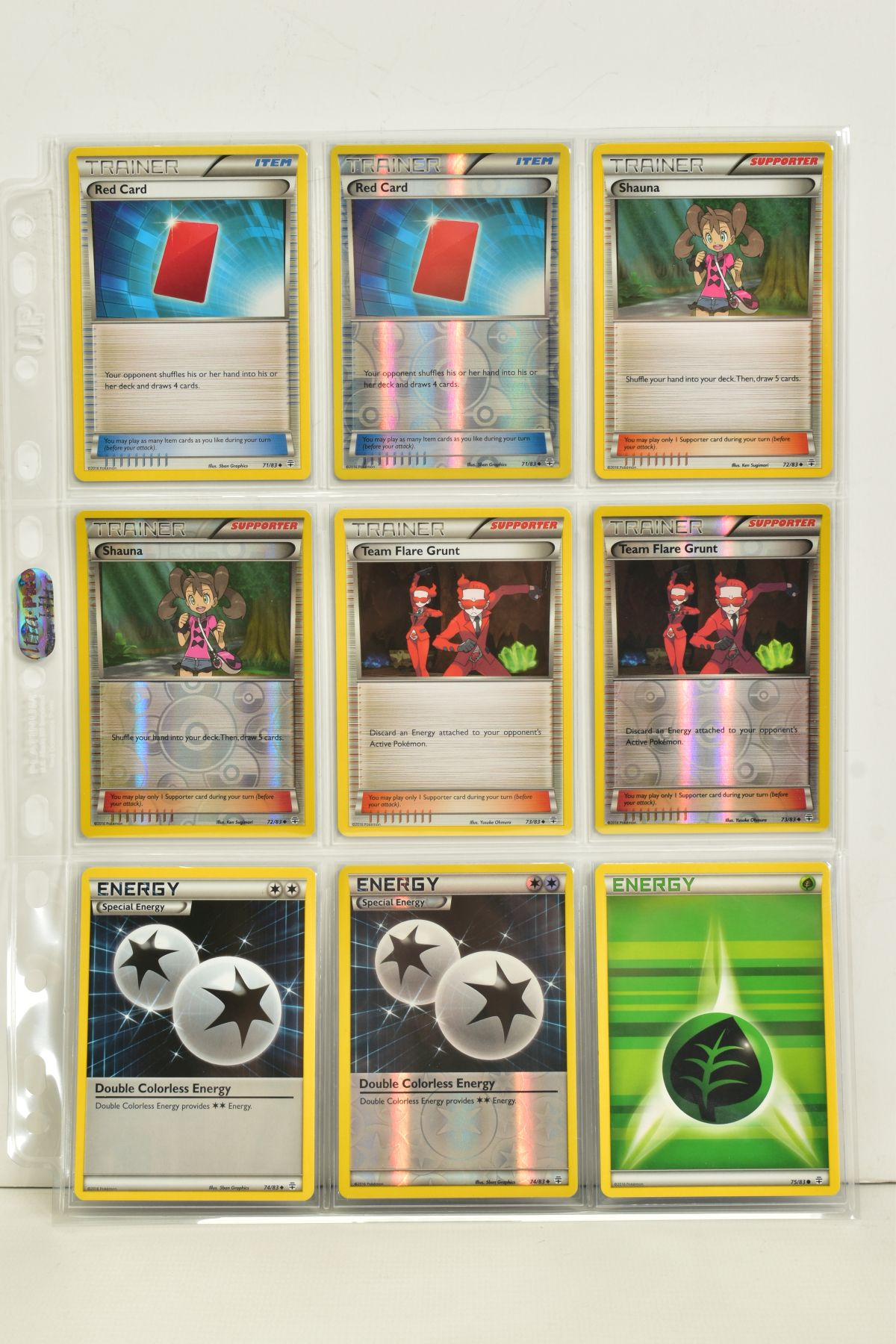 A COLLECTION OF ASSORTED POKEMON CARDS, to include complete master sets of XY Primal Clash, XY - Image 85 of 144