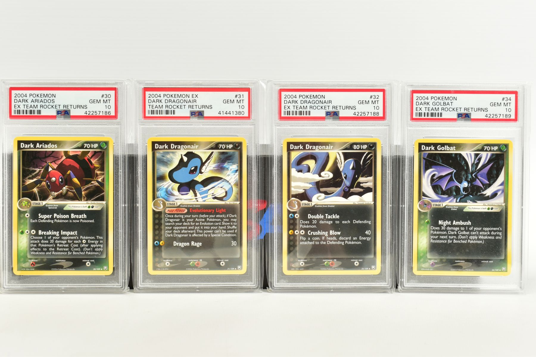 A QUANTITY OF PSA GRADED POKEMON EX TEAM ROCKET RETURNS AND EX RUBY & SAPPHIRE SET CARDS, all are - Image 5 of 15