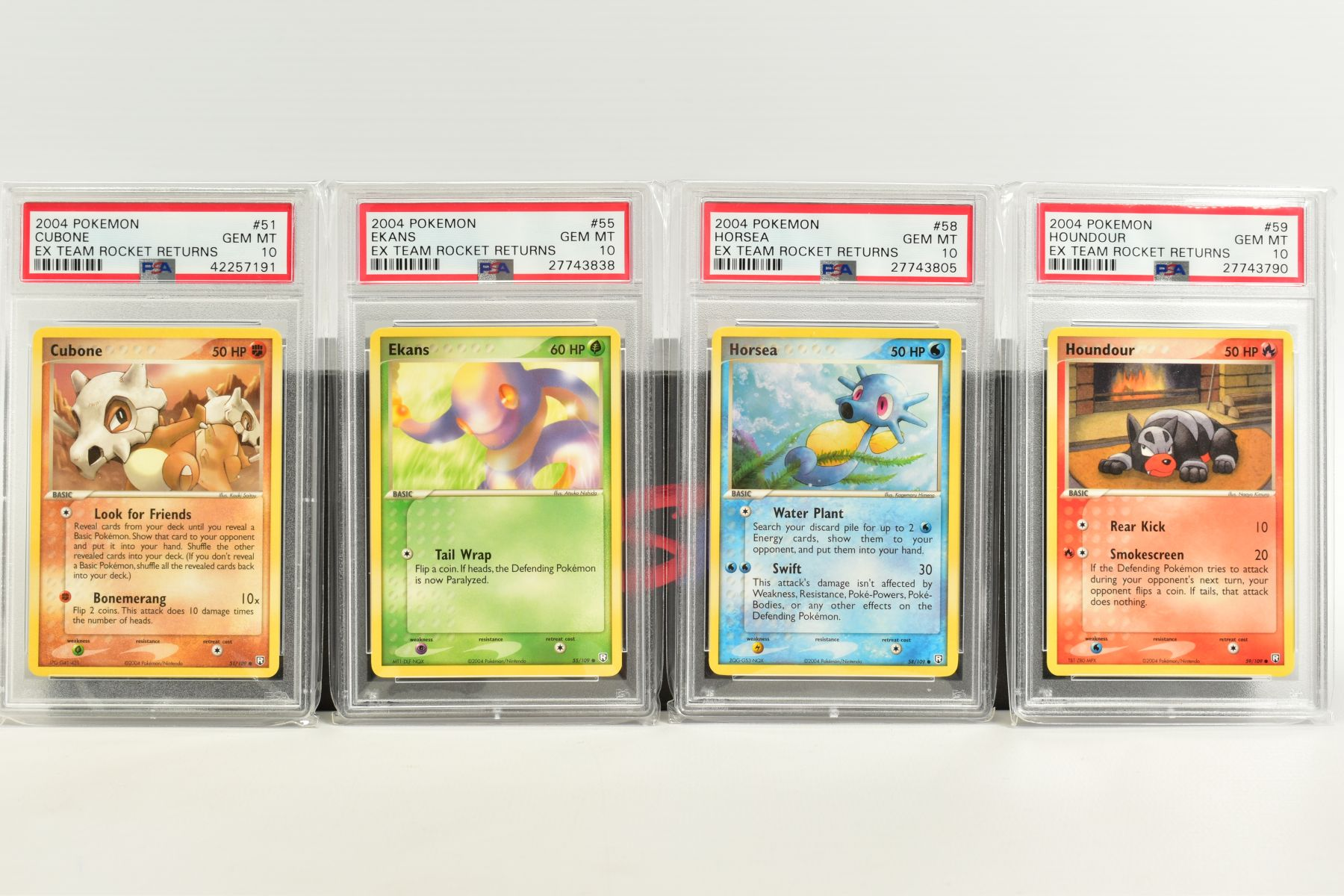 A QUANTITY OF PSA GRADED POKEMON EX TEAM ROCKET RETURNS AND EX RUBY & SAPPHIRE SET CARDS, all are - Image 7 of 15
