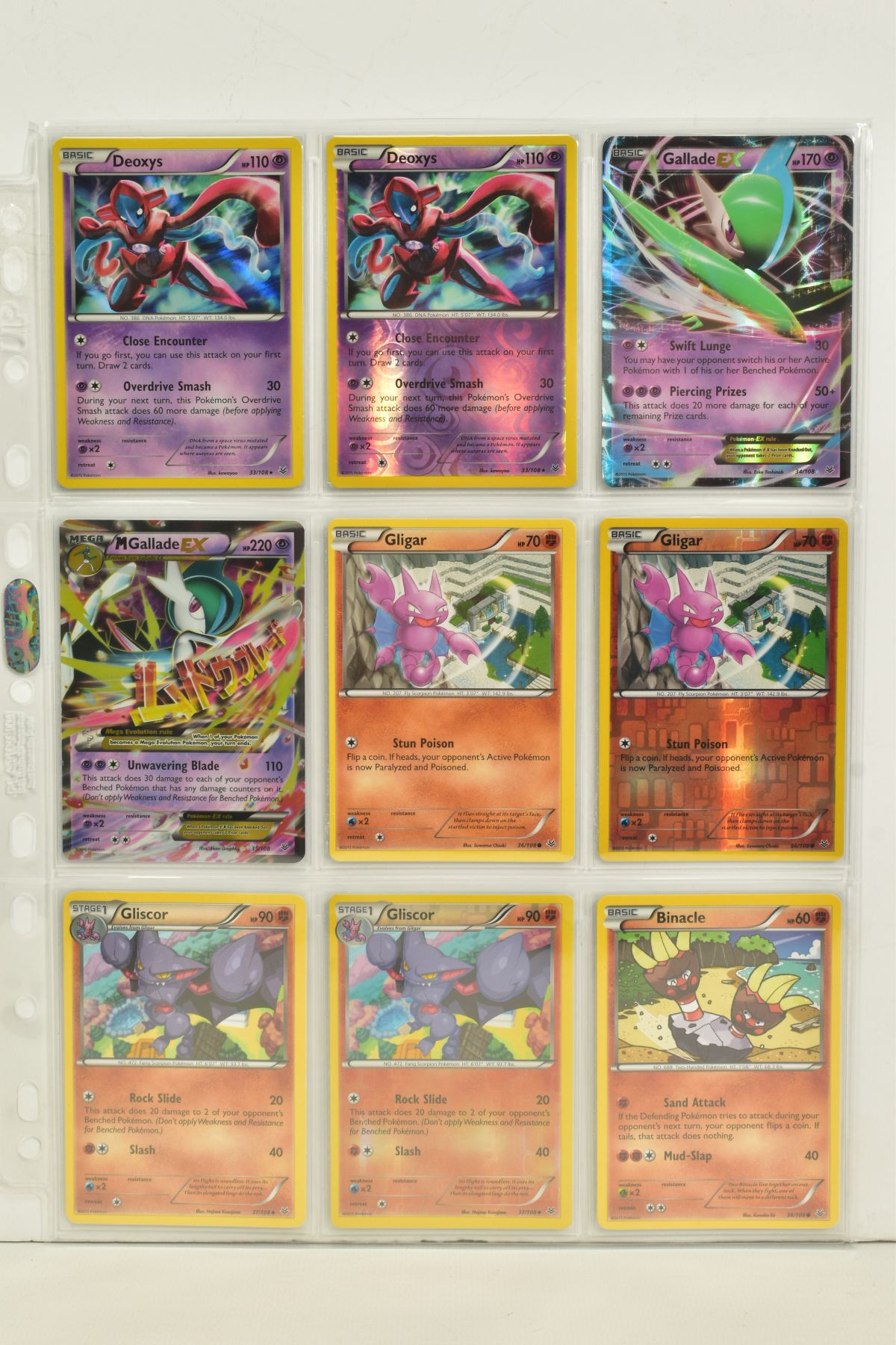 A COLLECTION OF ASSORTED POKEMON CARDS, to include complete master sets of XY Breakpoint, XY Roaring - Image 72 of 108