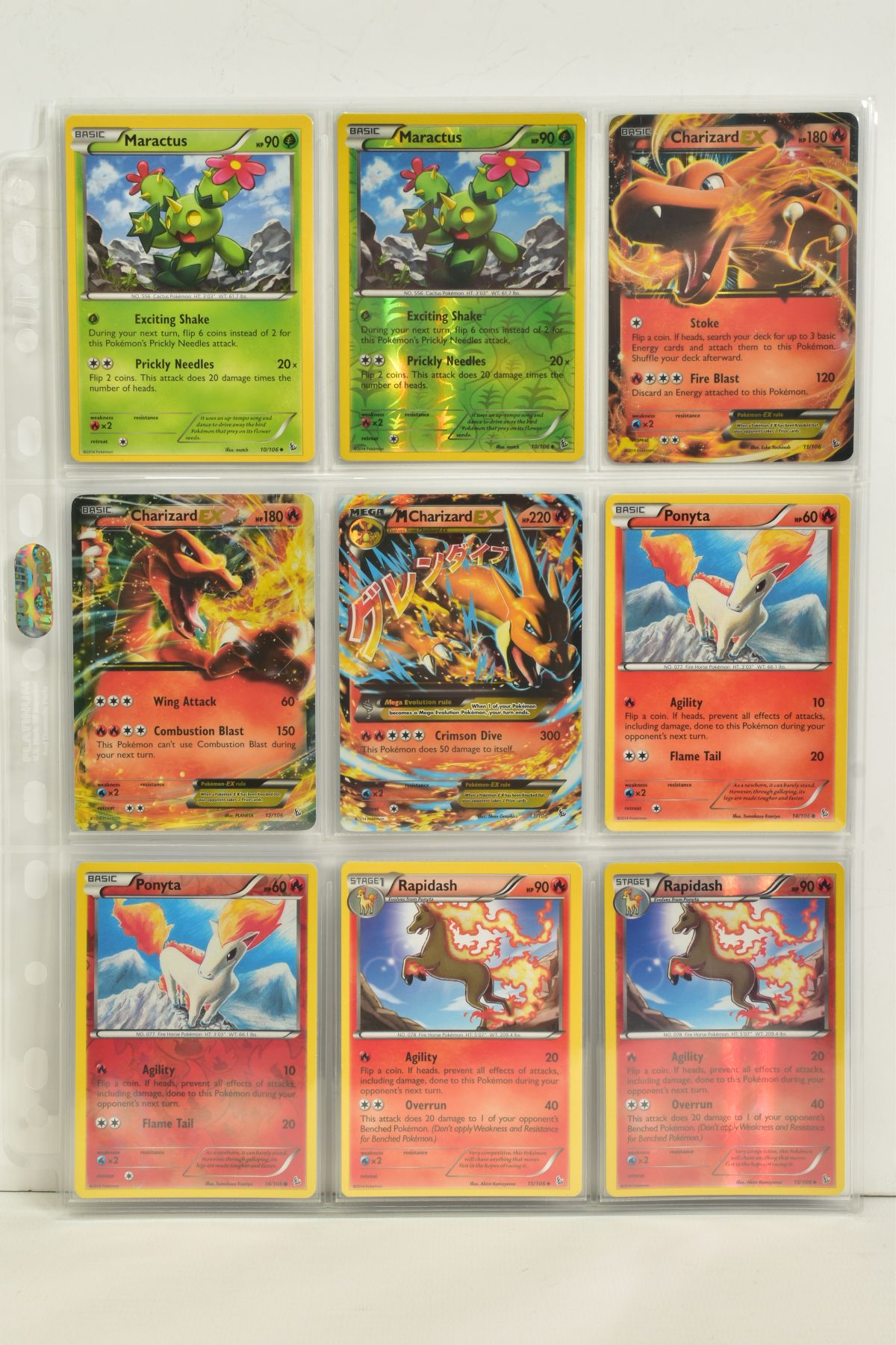 A COLLECTION OF ASSORTED POKEMON CARDS, to include complete master sets of XY Steam Siege, XY - Image 4 of 87