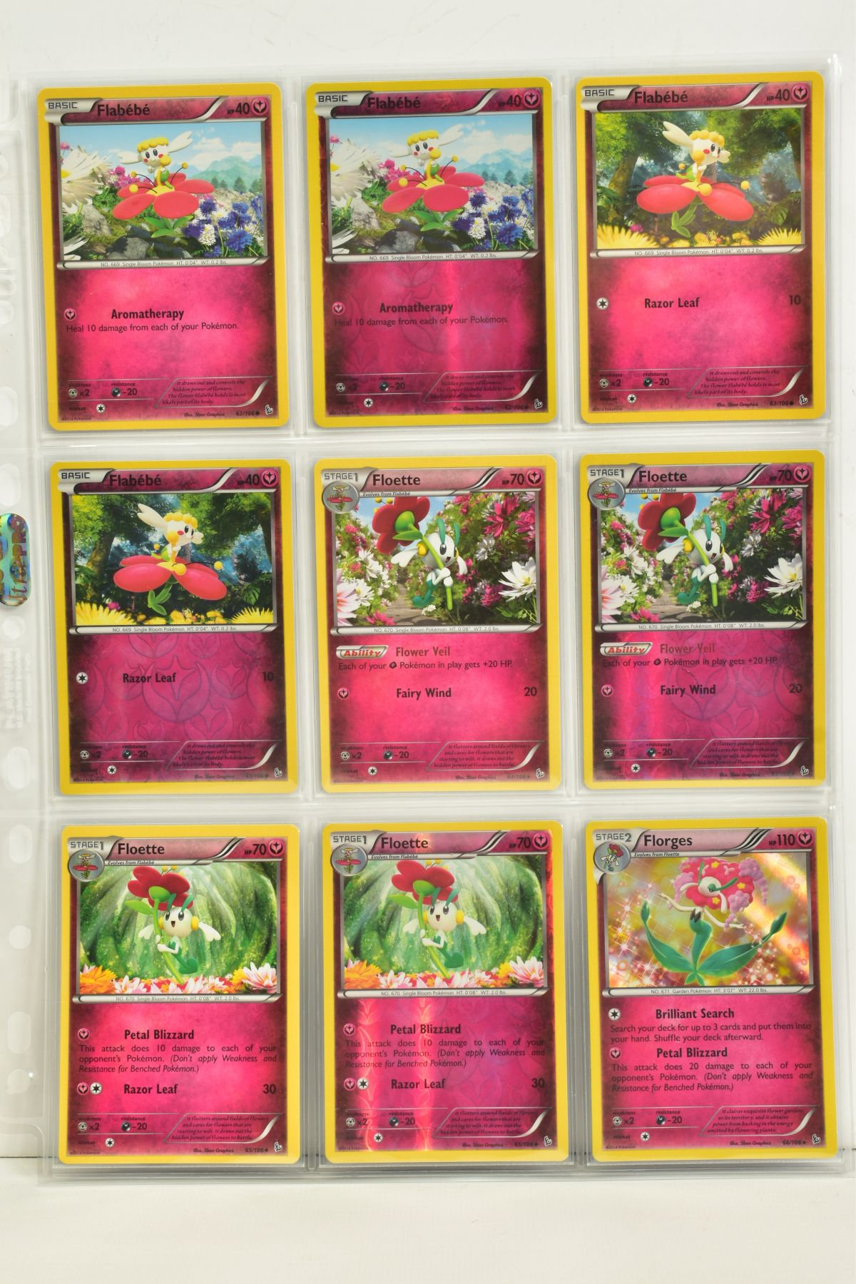 A COLLECTION OF ASSORTED POKEMON CARDS, to include complete master sets of XY Steam Siege, XY - Image 15 of 87