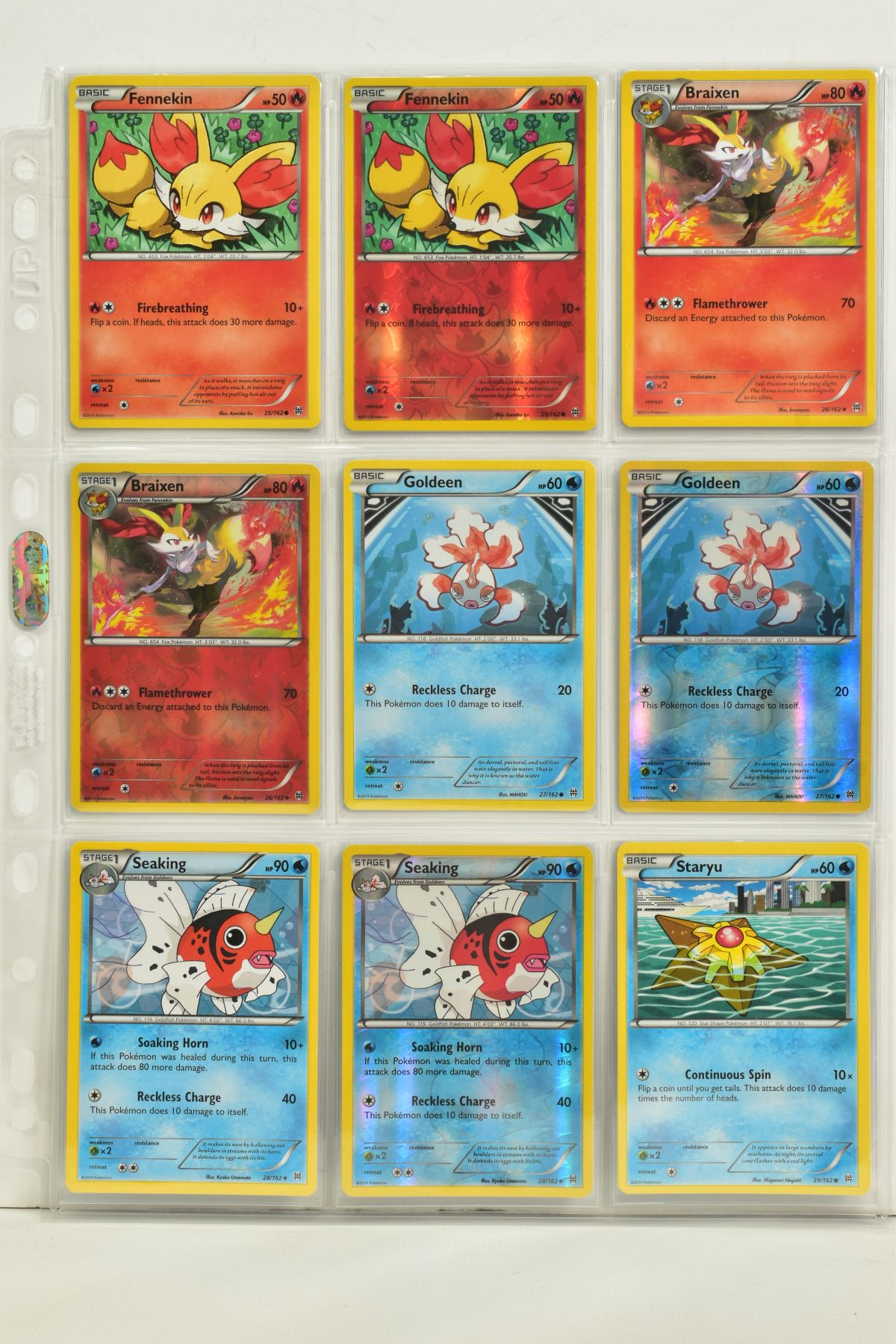 A COLLECTION OF ASSORTED POKEMON CARDS, to include complete master sets of XY Breakpoint, XY Roaring - Image 7 of 108