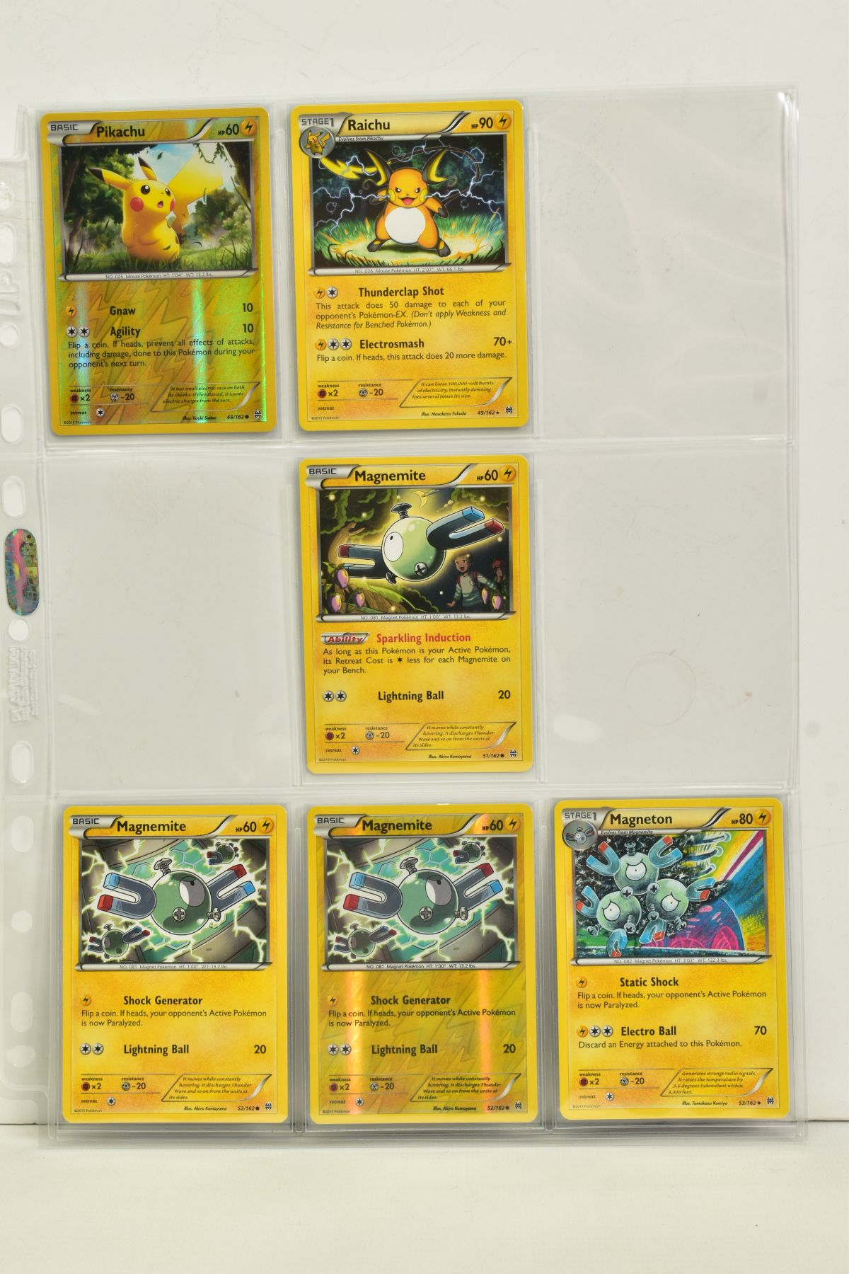 A COLLECTION OF ASSORTED POKEMON CARDS, to include complete master sets of XY Breakpoint, XY Roaring - Image 12 of 108