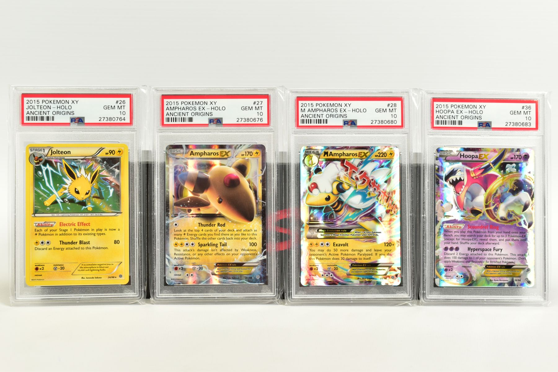 A QUANTITY OF PSA GRADED POKEMON XY CARDS, assorted cards from the XY Ancient Origins, XY Phantom - Image 3 of 6
