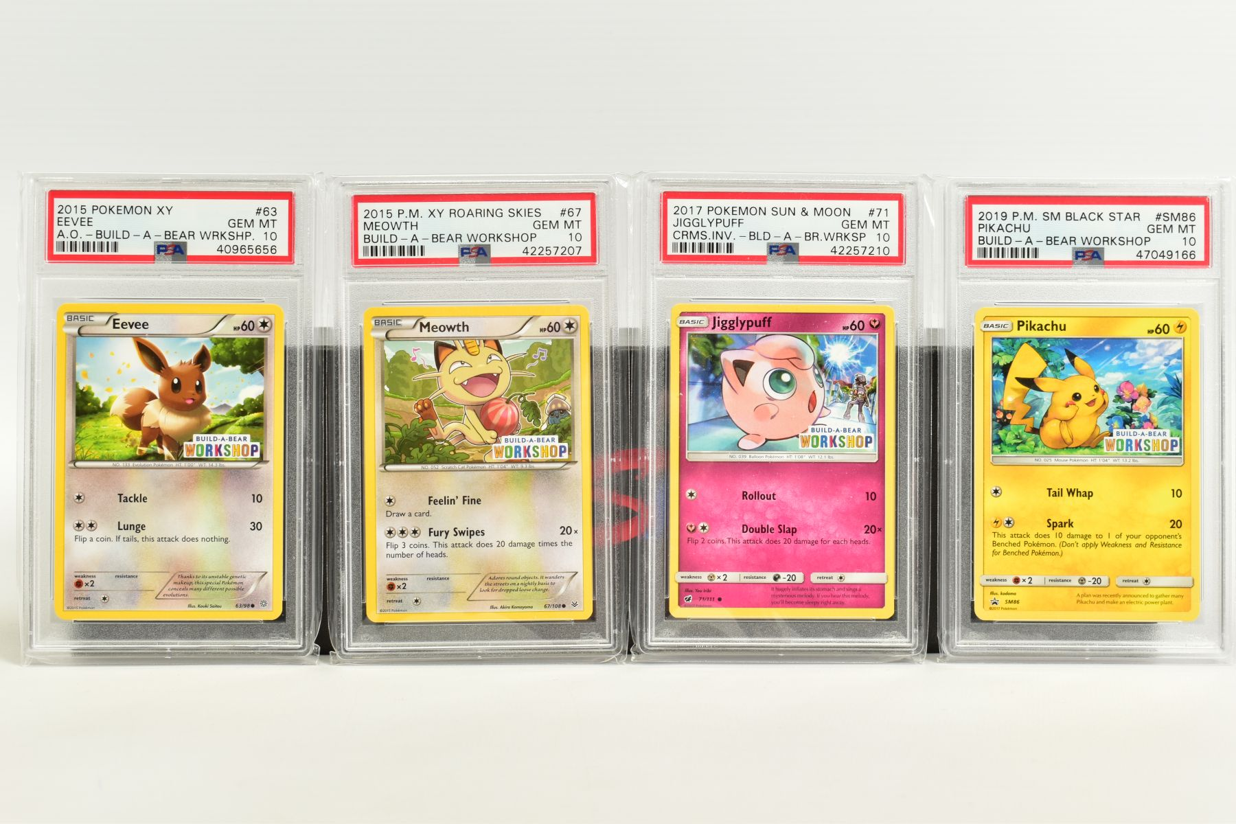A QUANTITY OF PSA GRADED POKEMON CARDS, assorted cards from the Southern Islands Promos, Build-A- - Image 6 of 12