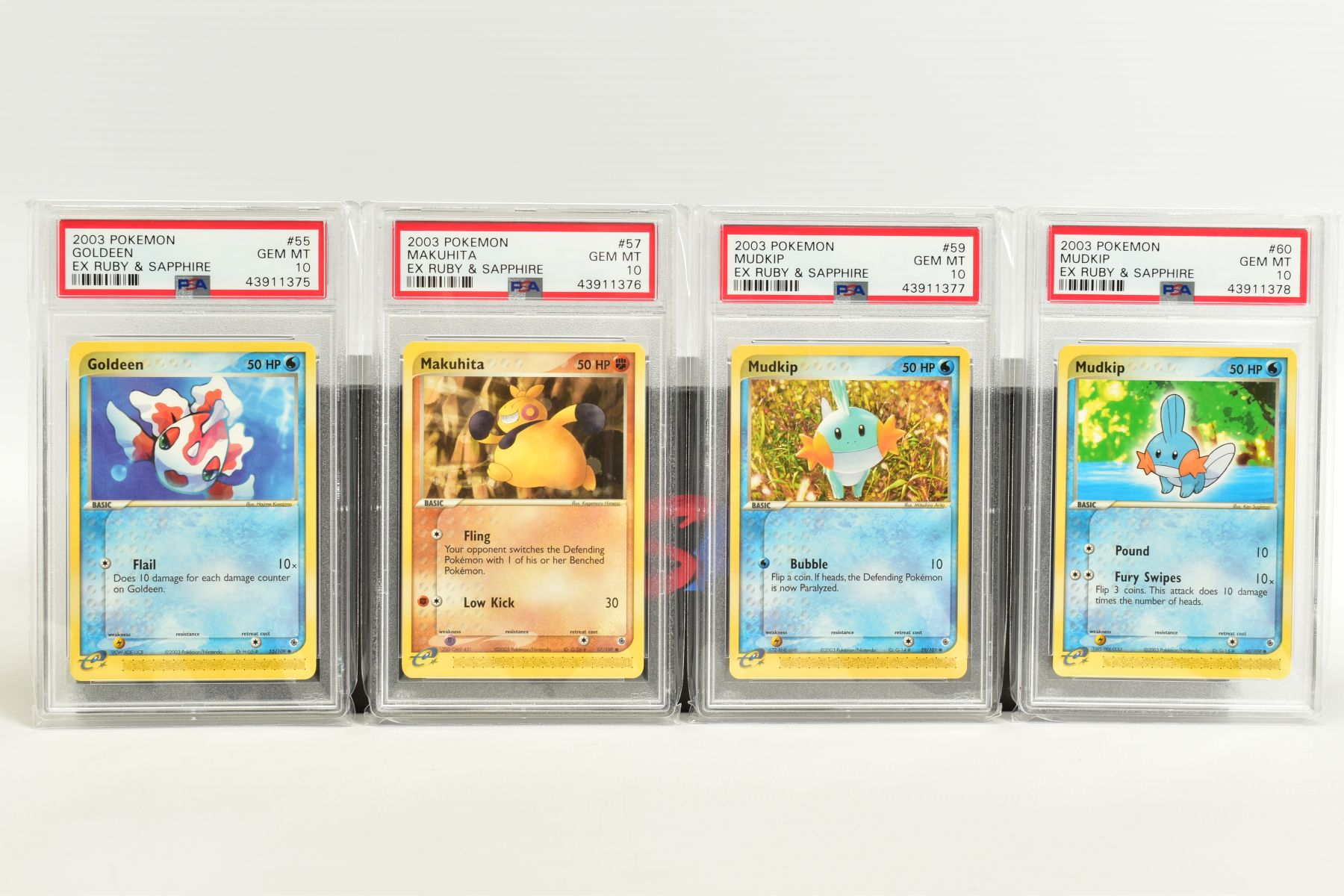 A QUANTITY OF PSA GRADED POKEMON EX TEAM ROCKET RETURNS AND EX RUBY & SAPPHIRE SET CARDS, all are - Image 13 of 15