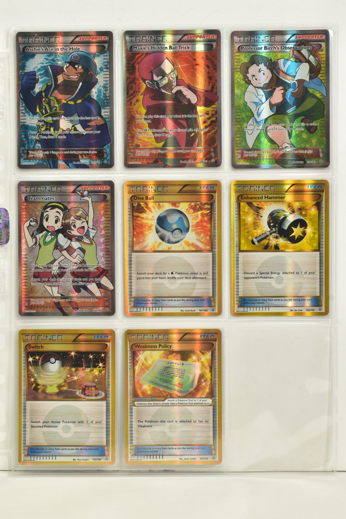 A COLLECTION OF ASSORTED POKEMON CARDS, to include complete master sets of XY Primal Clash, XY - Image 66 of 144