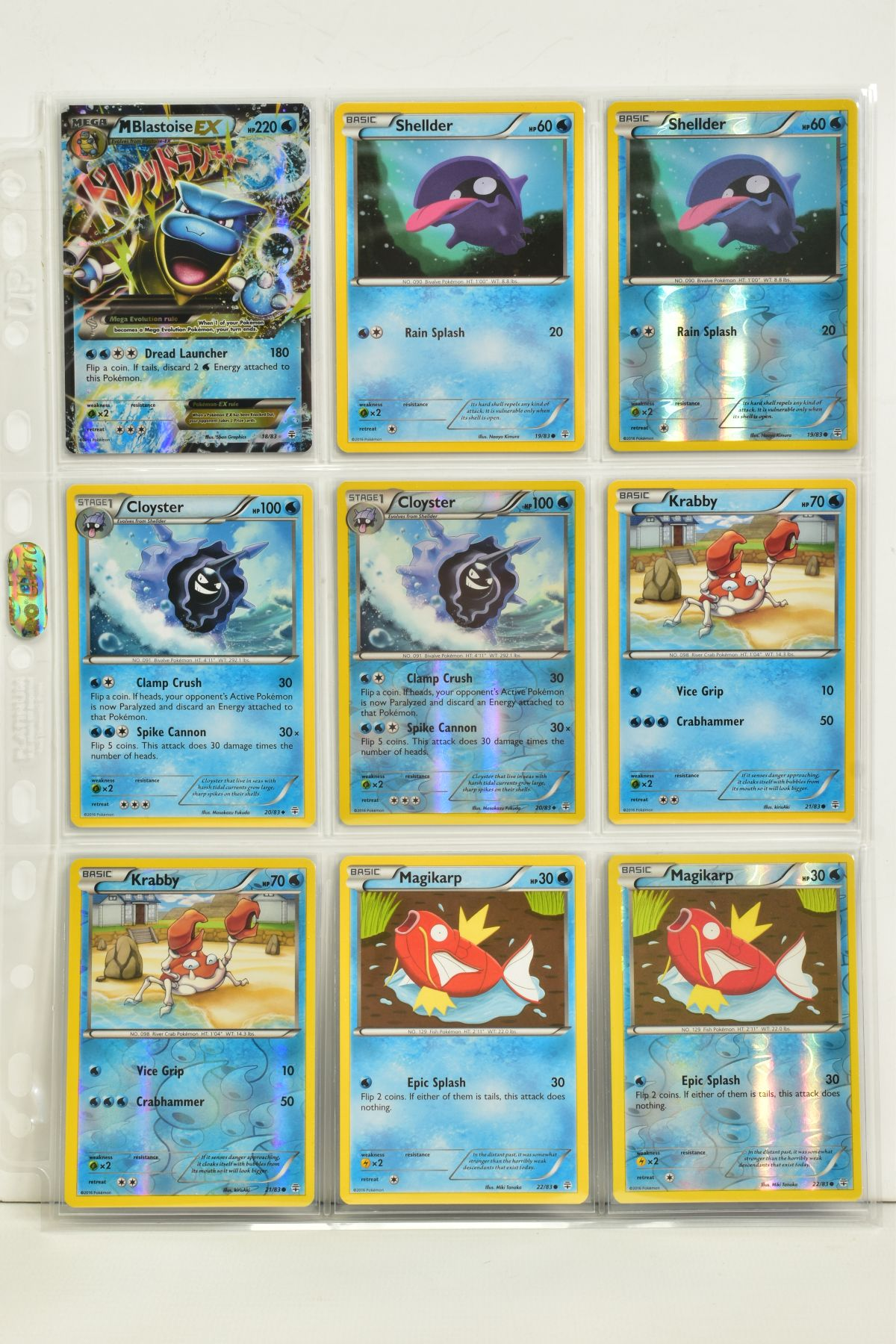 A COLLECTION OF ASSORTED POKEMON CARDS, to include complete master sets of XY Primal Clash, XY - Image 74 of 144