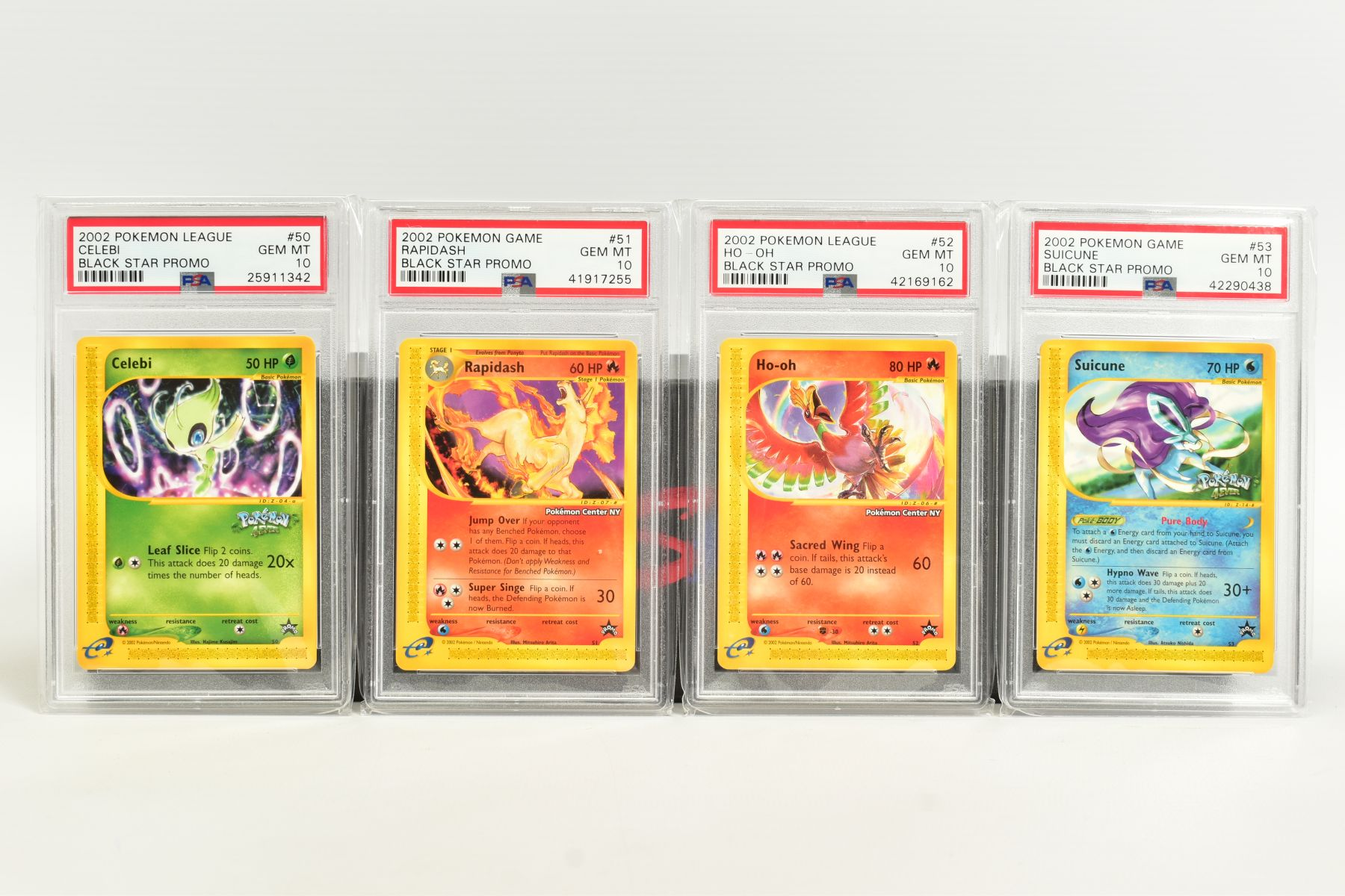 A QUANTITY OF PSA GRADED WIZARDS OF THE COAST POKEMON BLACK STAR PROMO CARDS, all date from 2000 - Image 6 of 8