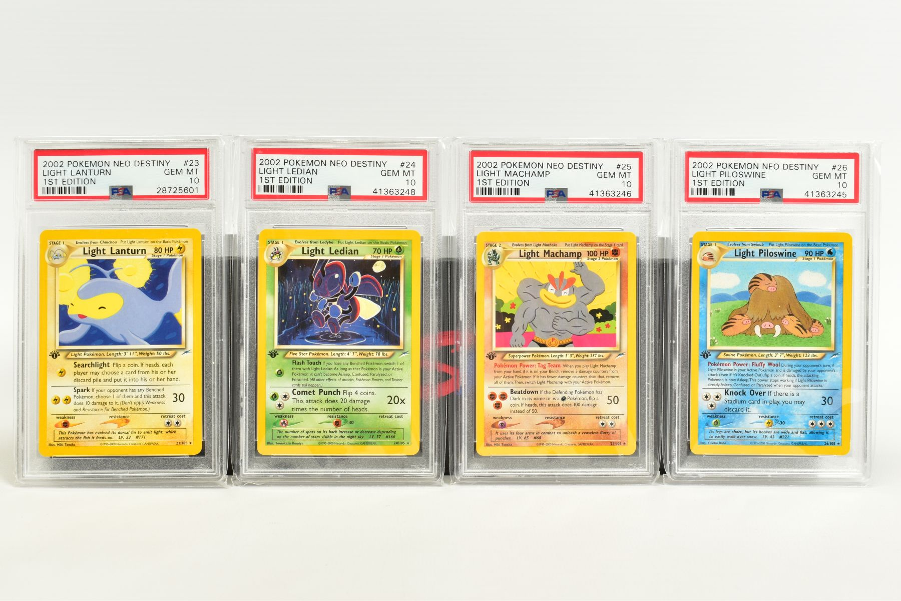 A QUANTITY OF PSA GRADED POKEMON 1ST EDITION NEO DESTINY SET CARDS, all are graded GEM MINT 10 and - Image 2 of 7