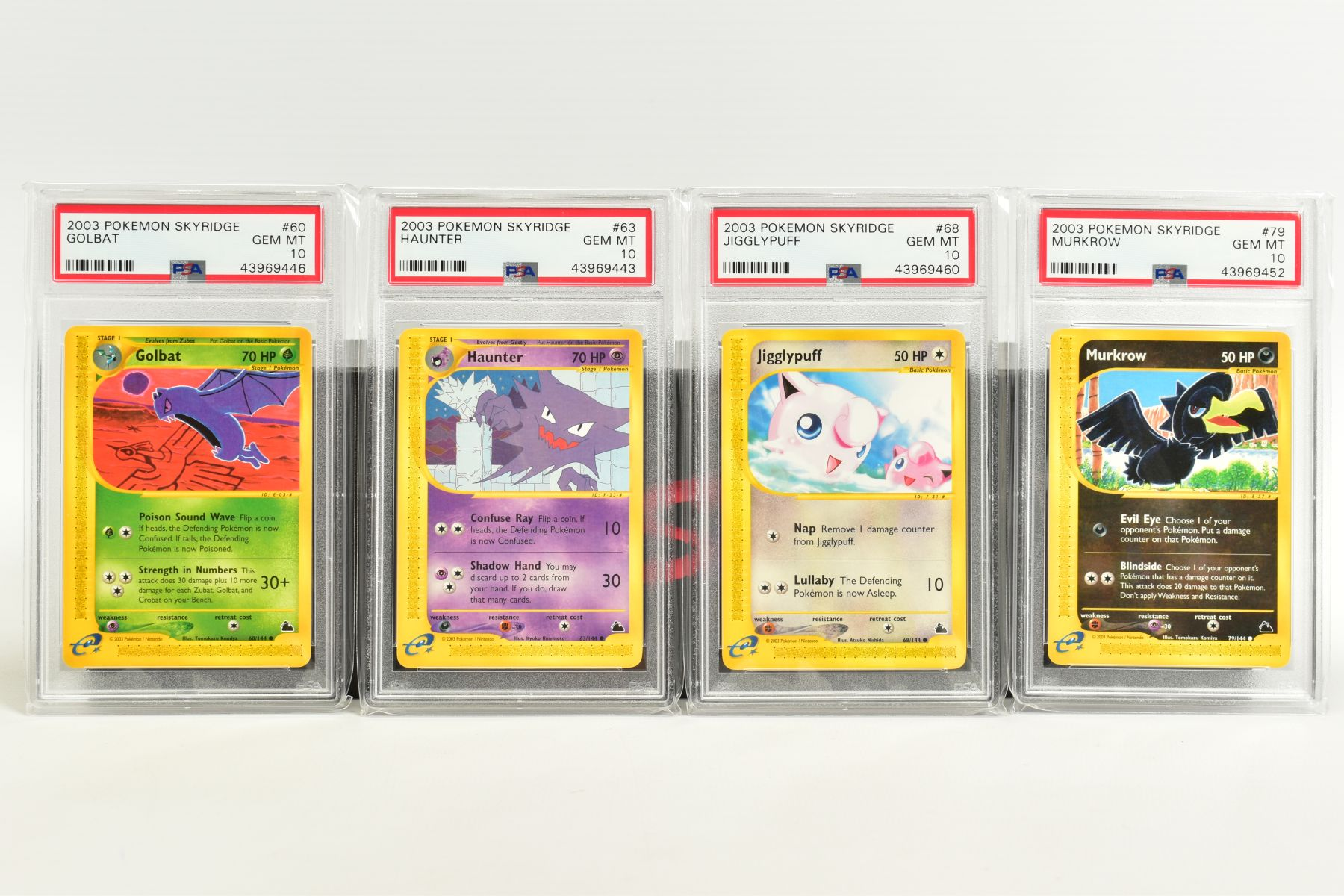 A QUANTITY OF PSA GRADED POKEMON SKYRIDGE SET CARDS, all are graded GEM MINT 10 and are sealed in - Image 4 of 9