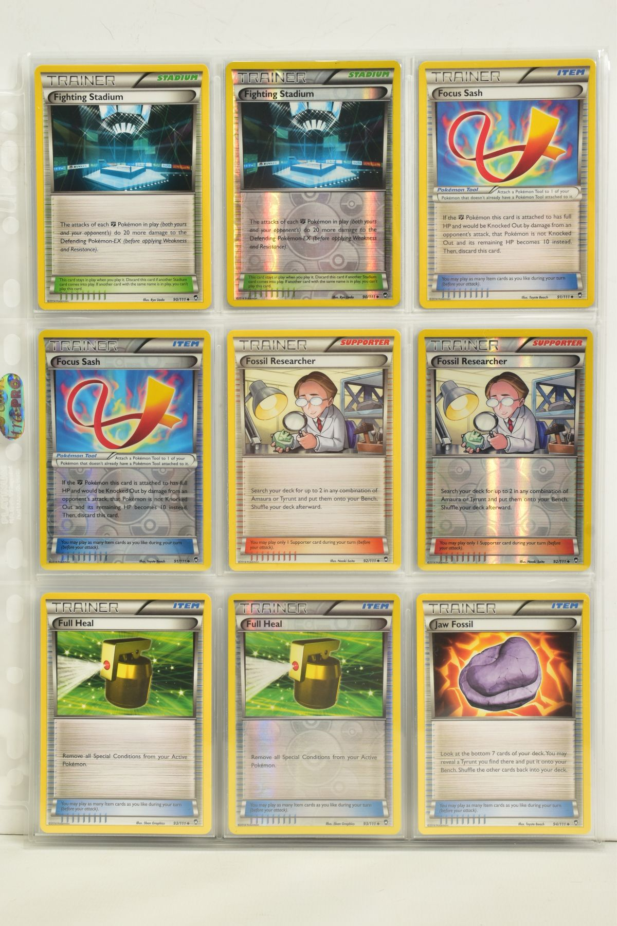 A COLLECTION OF ASSORTED POKEMON CARDS, to include complete master sets of XY Phantom Forces, XY - Image 96 of 101