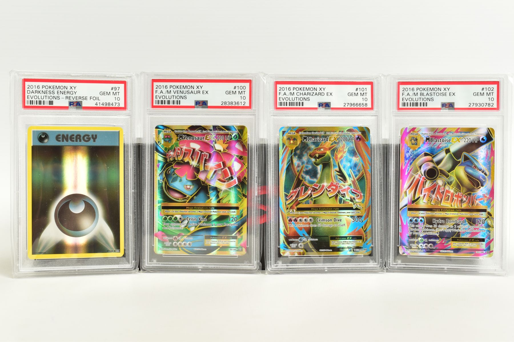 A QUANTITY OF PSA GRADED POKEMON XY EVOLUTIONS SET CARDS, all are graded GEM MINT 10 and are - Image 6 of 10
