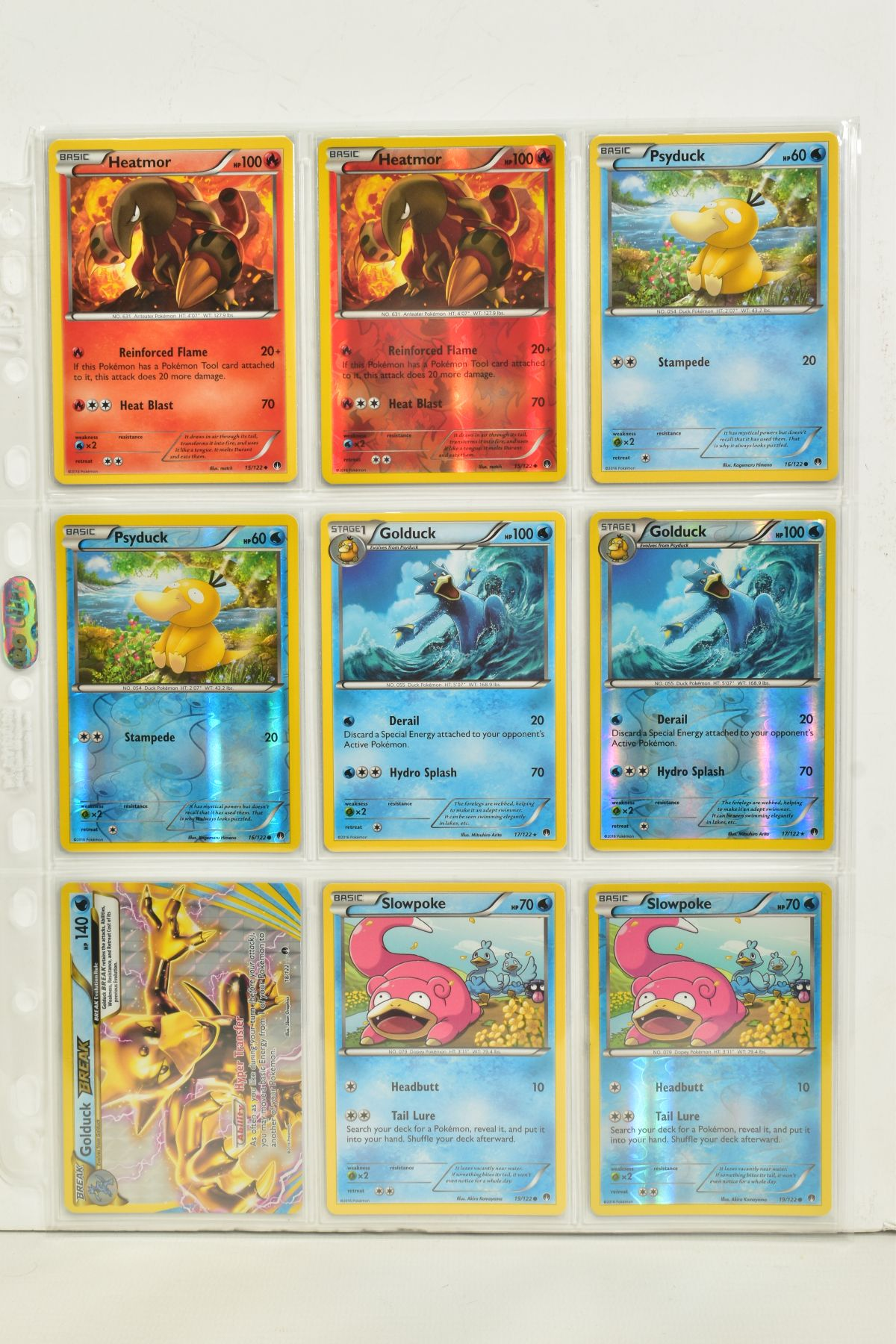 A COLLECTION OF ASSORTED POKEMON CARDS, to include complete master sets of XY Breakpoint, XY Roaring - Image 43 of 108