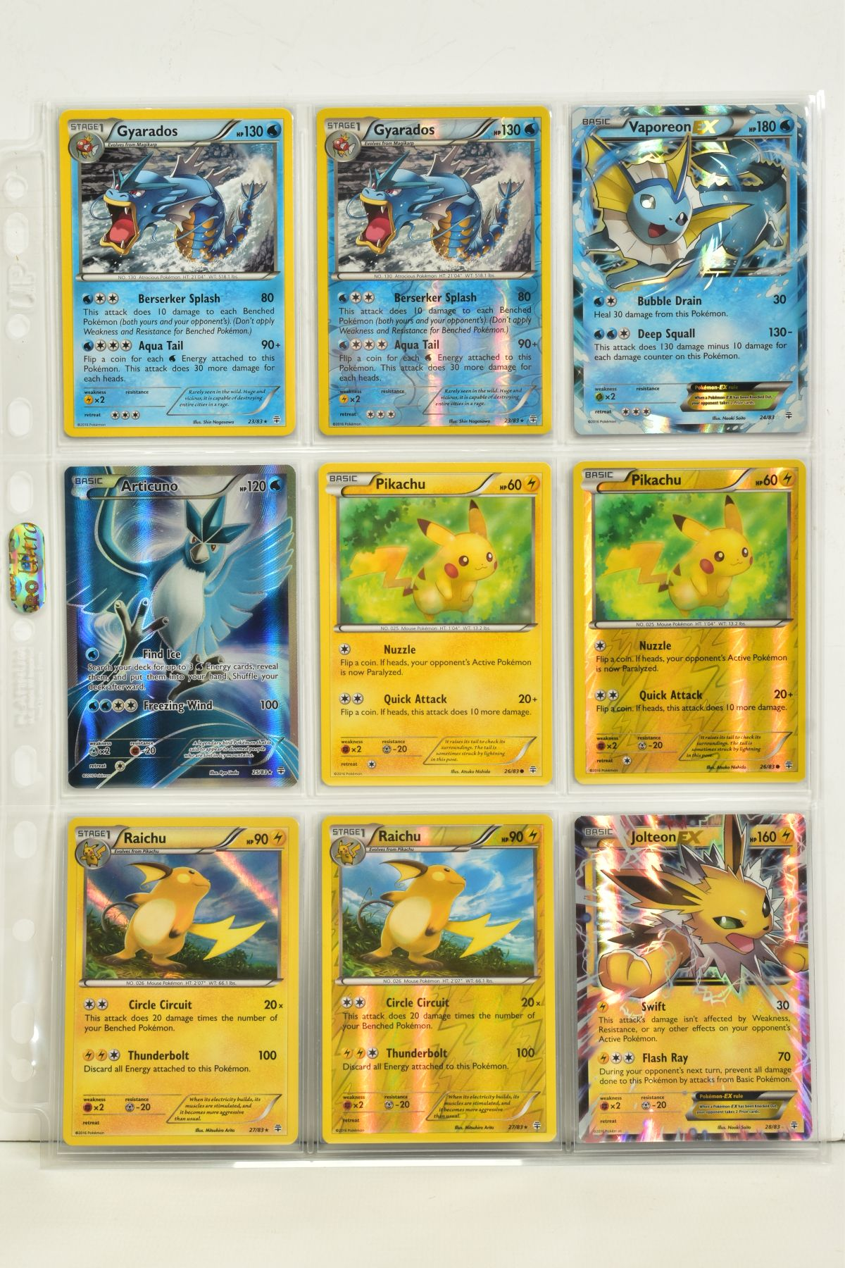 A COLLECTION OF ASSORTED POKEMON CARDS, to include complete master sets of XY Primal Clash, XY - Image 75 of 144