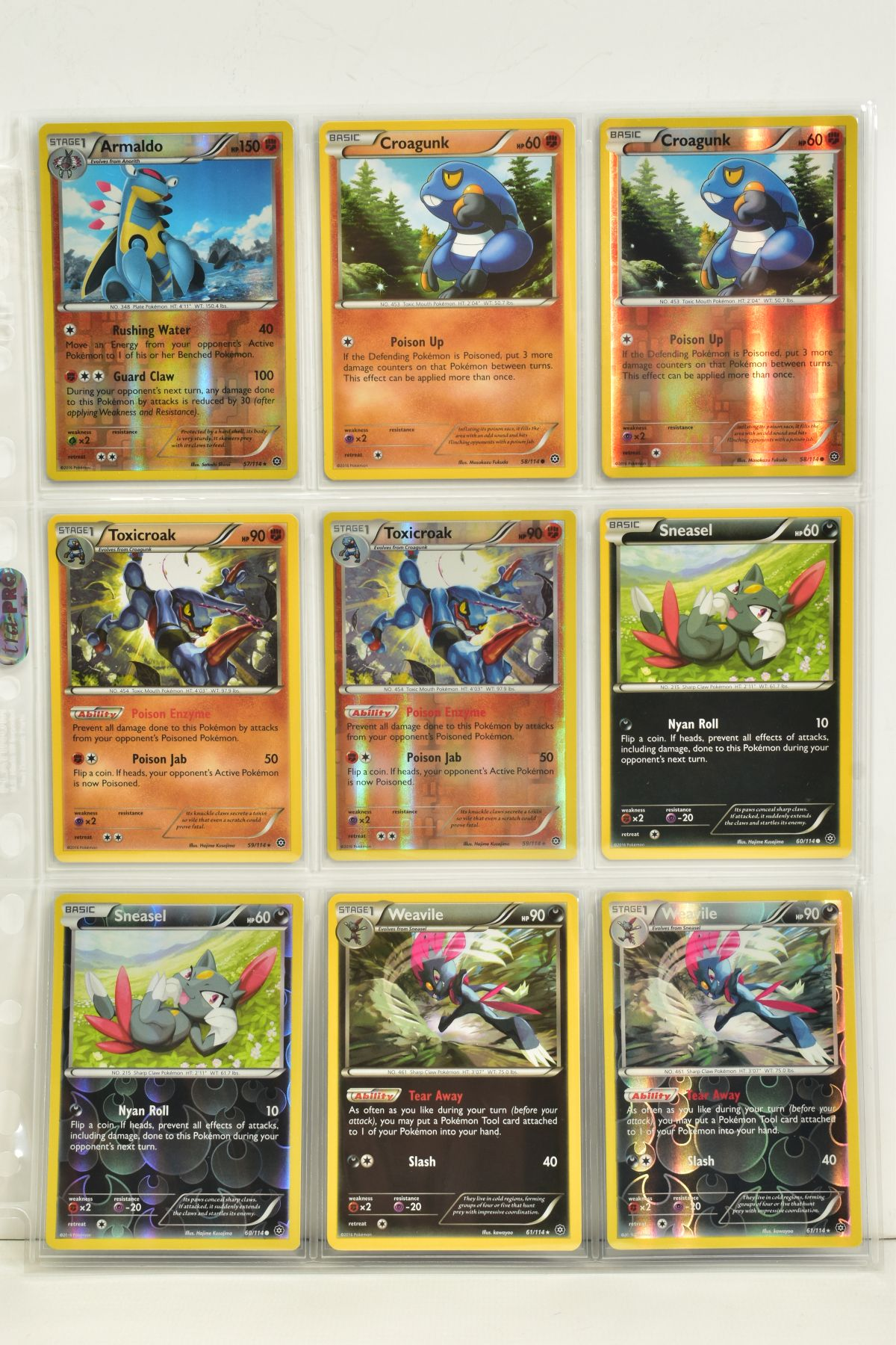 A COLLECTION OF ASSORTED POKEMON CARDS, to include complete master sets of XY Steam Siege, XY - Image 74 of 87